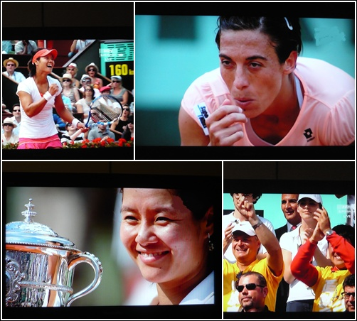 Li Na menang Grand Slam Terbuka Perancis