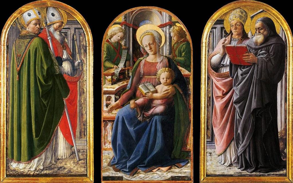 Fra Filippo Lippi - Triptych