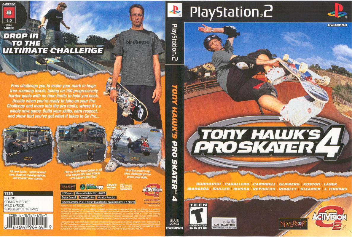 Tony Hawk Pro Skater 4 Download Mac