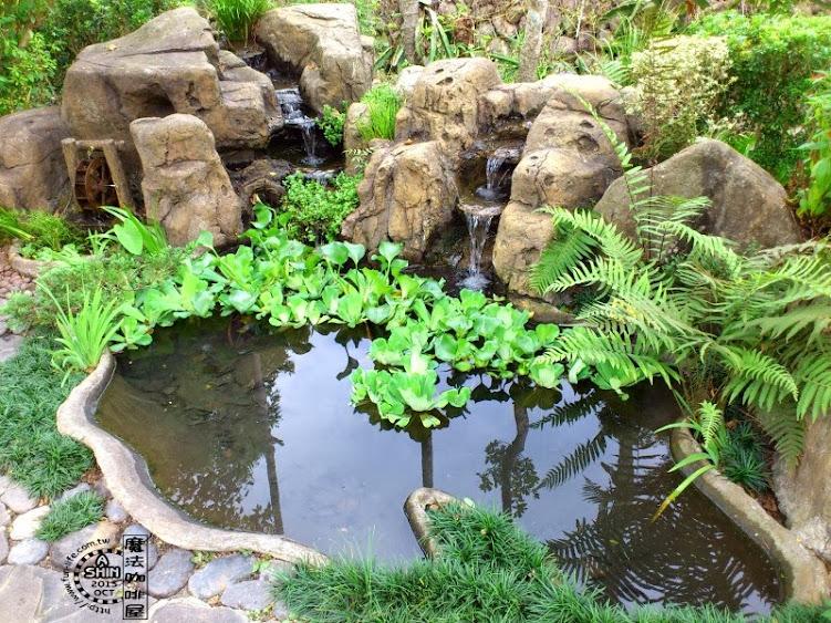 池塘小造景~魔法咖啡屋戶外