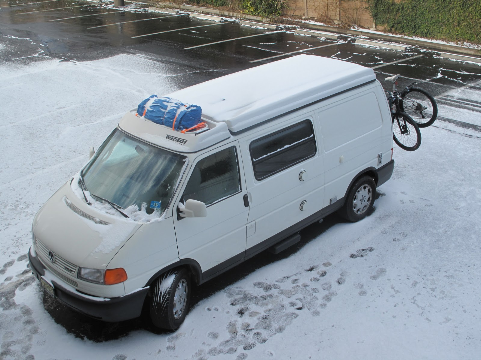 Speaking of cold hereu0027s the morning we left Austin. This was the & Astral Nomads: Eurovan Special Edition