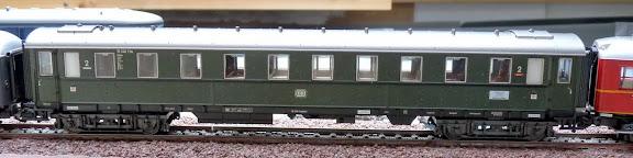 Märklin 42942: Uitbreidingsset Riviera Express Schürzenwagen 2de klas