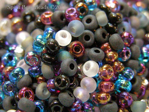 Witch's Brew Custom Seed Bead Mix by Spirit Bear Beads