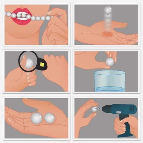 Resultado de imagen para fake pearls tests