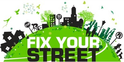 Fit Your Street - how to submit a service request to your local council in Ireland, eg broken street lights, dumped rubbish