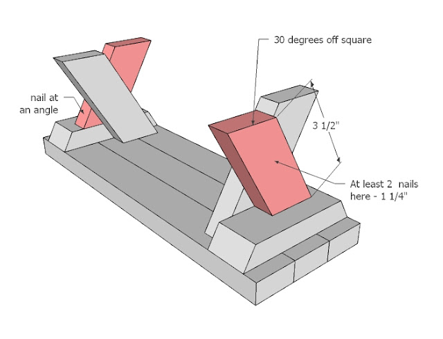 building plans picnic table bench