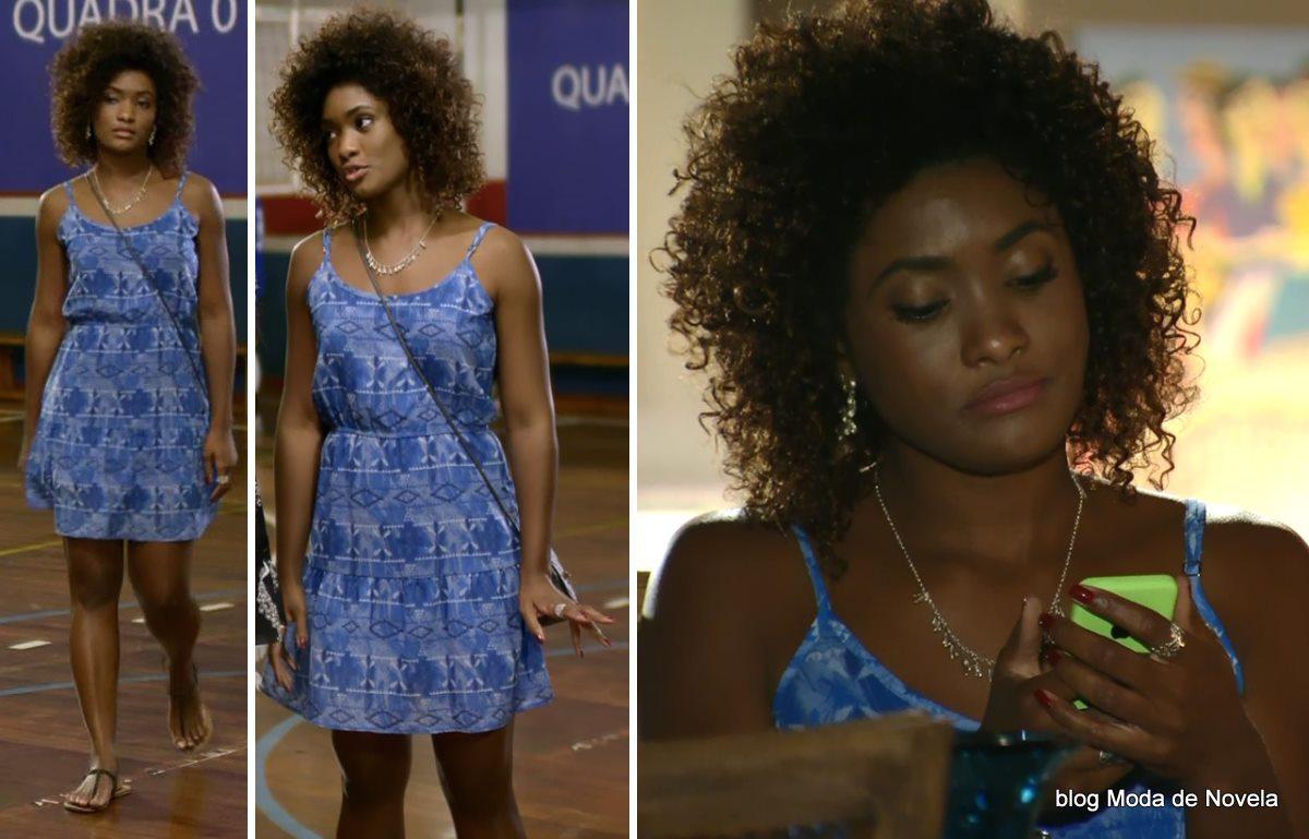 moda da novela Em Família - look da Alice no dia 19 de abril