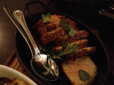 Le Bistrot Du Sommelier, mangalica pork chop
