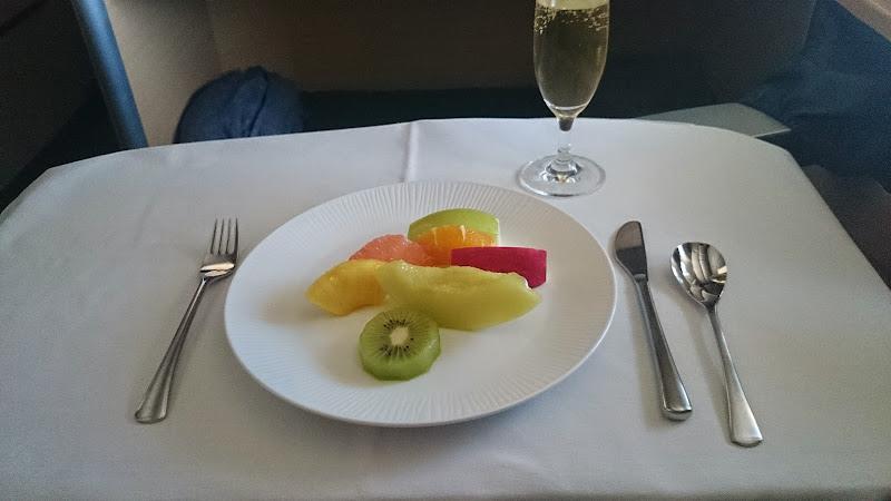 DSC 1017 - REVIEW - ANA : First Class - Tokyo Narita to London (B77W)