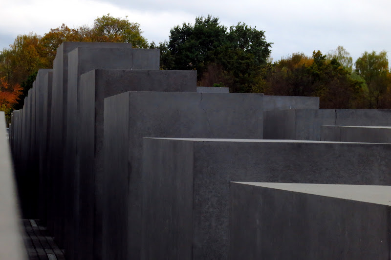 Holocaust Memorial - stairs