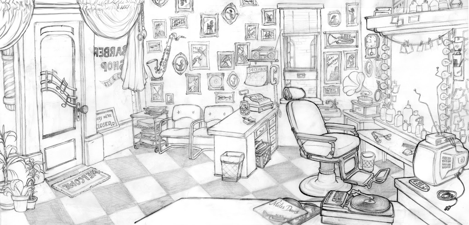 Barber Shop Layouts