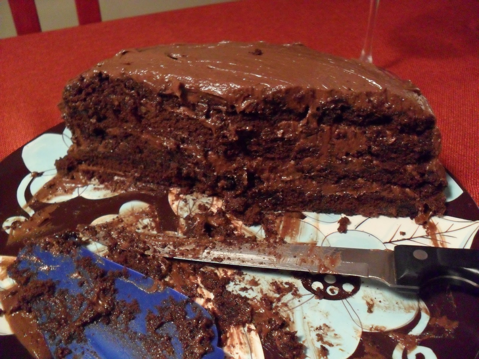 The Lovely Prelude: 4-Layer Devil's Food Cake with ...