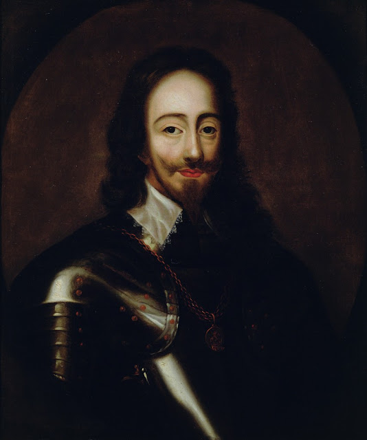 Peter Lely - Portrait of Charles I in armour