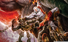 Action Adventure Battle of God of War Wallpaper
