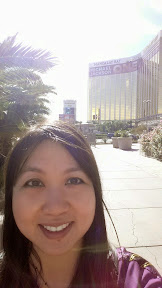Selfie with the Mandalay Bay Resort and Casino in Las Vegas