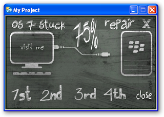 Repair Stuck 75% All BlackBerry OS 7.0 & 7.1
