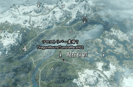 フロストリバー農場地図