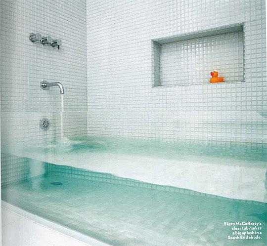 Invisible Bathtub