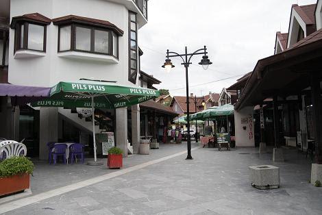 Улица в центре, Сокобаня