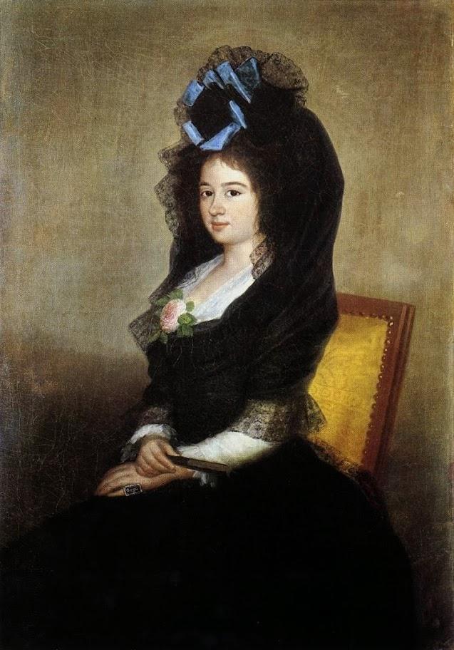 Francisco Goya - Dona Narcisa Baranana de Goicoechea