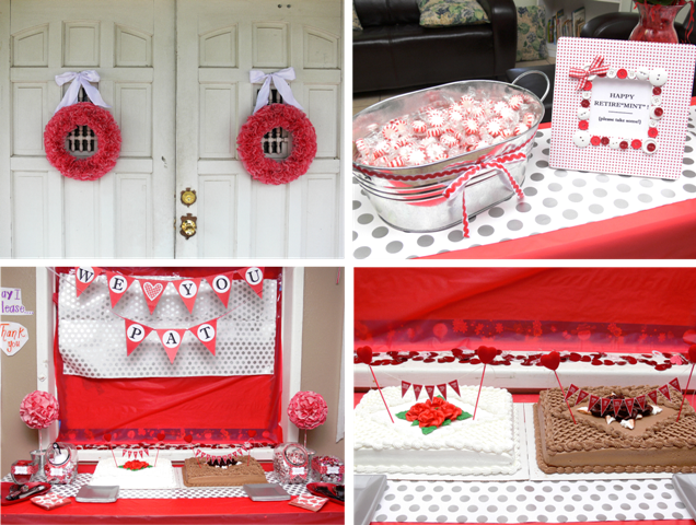 Frame Fanatic]: Retirement Party with a Valentine Twist