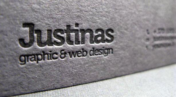 desain letterpress