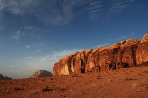Небо в Иордании