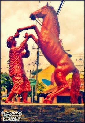 Patung Kuda Silat