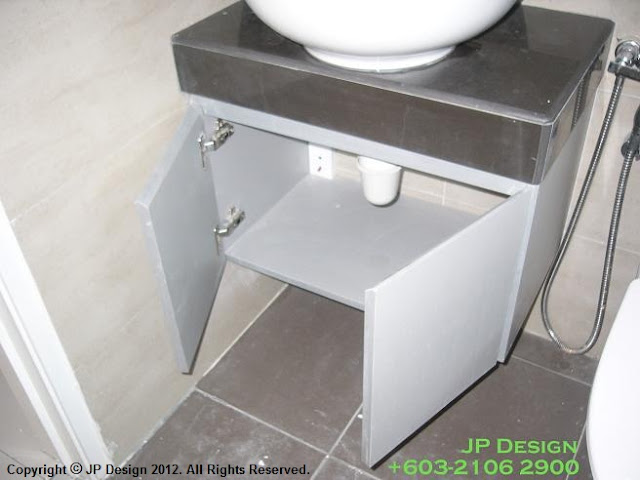 Jp design bathroom cabinet design in klang valley for Bathroom designs malaysia