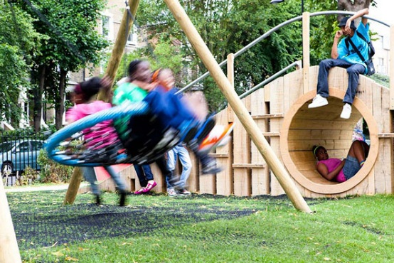 World 39 s children and that 39 s how you do a playground hill more work from erect architecture - Natural playgrounds for children ...