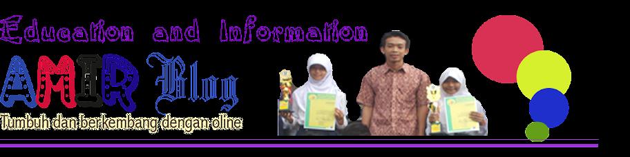 Amir blog: Tumbuh Dan Berkembang Belajar Online