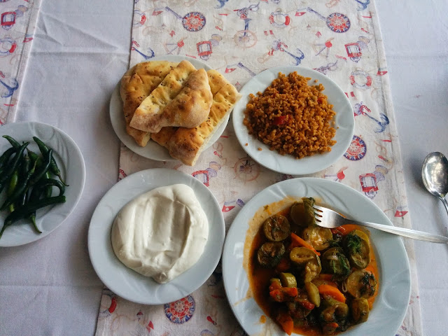 Vegetarian Turkish Lunch