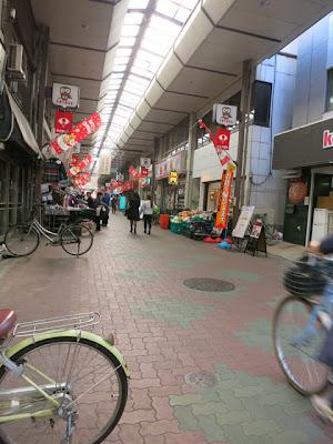 地域密着型の佐竹商店街