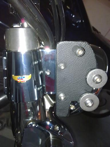 Colocación de Fairing (Batwing) en la moto Fairing%252003