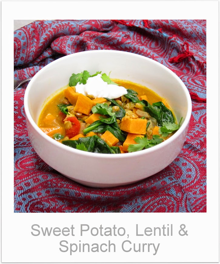 Sweet potato adds a surprise sweet note to this traditional daal