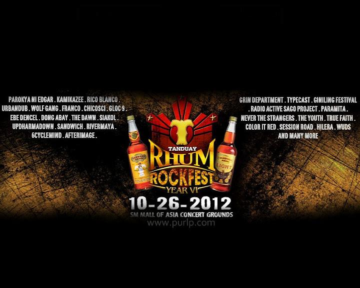 Tanduay Rhum Rockfest 2012 Year 6