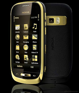 nokia oro 01 New Mobile Phone from Nokia | Nokia Oro Symbian Anna release with a layer of gold