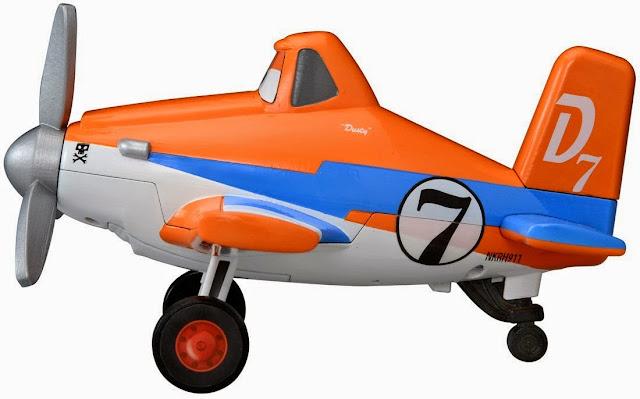 Đồ chơi Máy bay Dusty phát ra âm thanh rất độc đáo