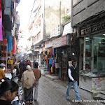 Une rue de Kotla Mubarakpur, Delhi