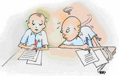 Kekonyolan Anak Sekolahan