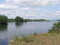 Рось возле села Крещатик