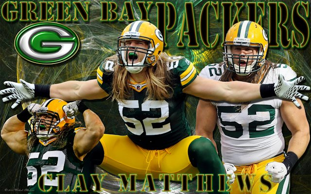 Clay matthews green bay packers wallpaper hot nfl wallpaper site clay matthews green bay packers wallpaper voltagebd Image collections