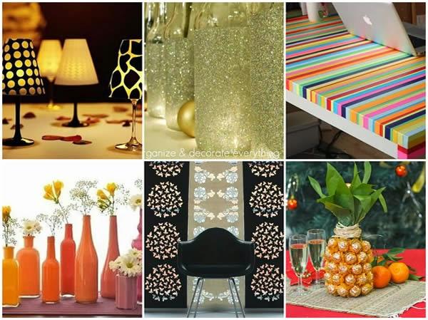 10 decorações para você fazer em casa