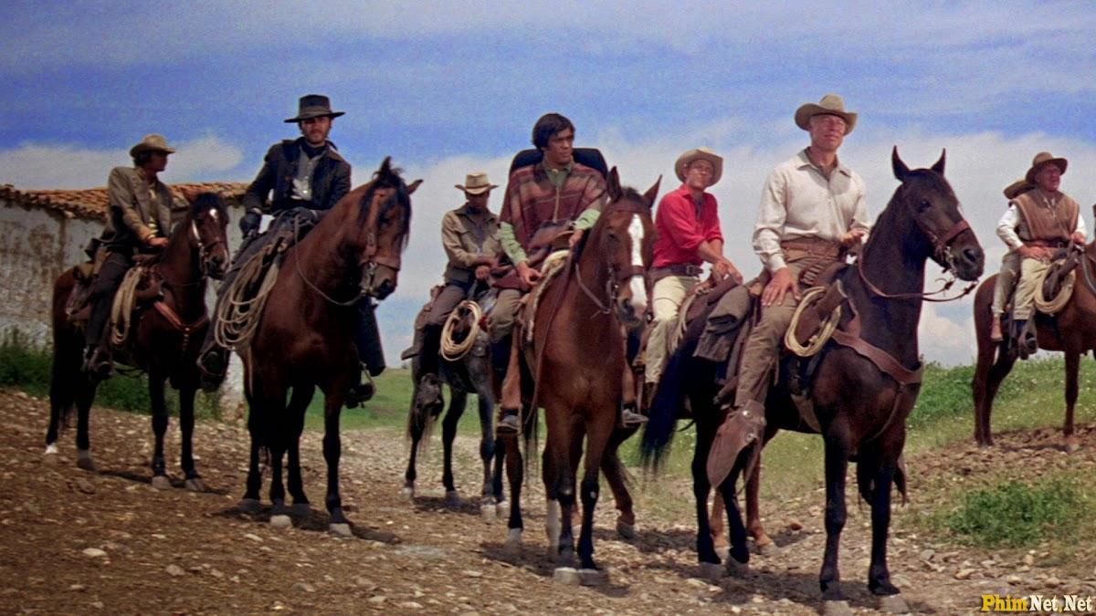 Xem Phim Bảy Tay Súng Oai Hùng 1969 - Guns Of The Magnificent Seven - Wallpaper Full HD - Hình nền lớn