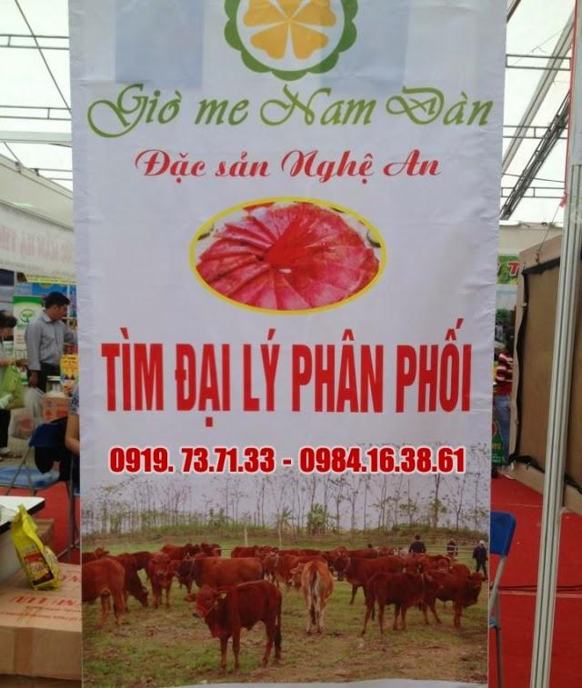 Giò Me Nam Đàn tìm đại lý
