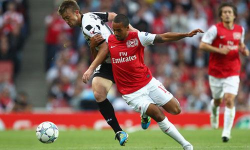 Theo Walcott, Arsenal - Udinese