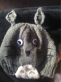 Knitting Pattern For Totoro Hat : Totoro Beanie   Knitting Pattern The Knit Guru
