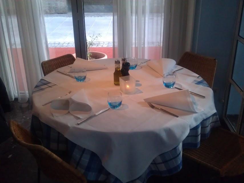 Runter Tisch im Santa Lucia