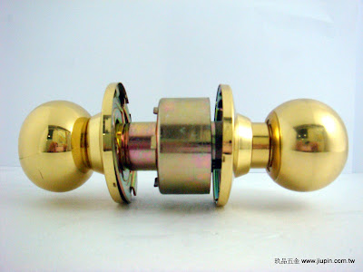 裝潢五金品名:喇叭鎖(金色) 規格:51/60/70/85mm 型式:房間/浴室玖品五金