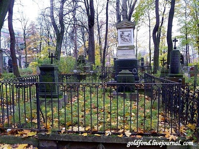 Семейное захоронение 19 века